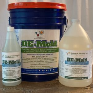 DE-Mold Quart, 5 Gallon, 1 Gallon
